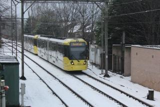 Tram at Deansgate Junction